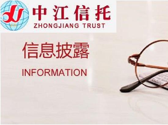 中江信托产品金鹤249号内蒙古银行股权质押信托成立公告(第二期)